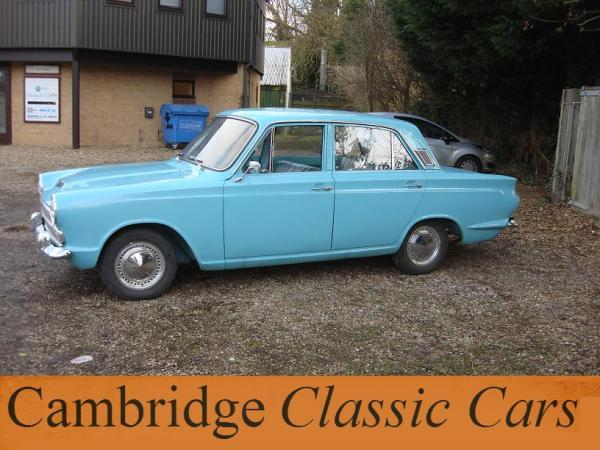 Sold Classic Ford Cortina Deluxe In Cambridge