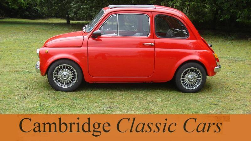 classic fiat 500l saloon in cambridge. Cars Review. Best American Auto & Cars Review