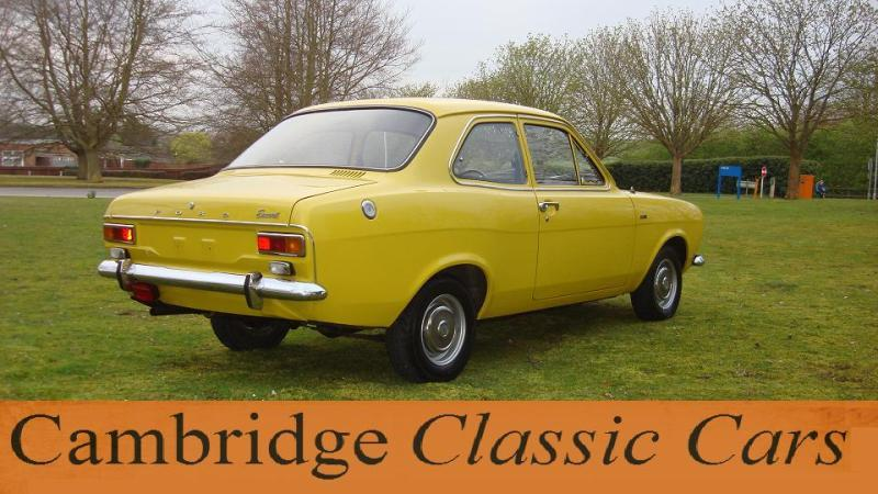 sold classic ford escort l in cambridge. Cars Review. Best American Auto & Cars Review