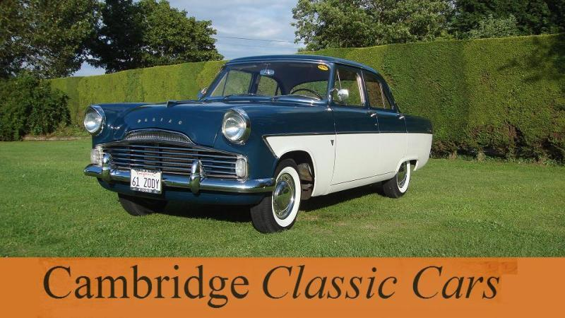 classic ford zodiac saloon in cambridge. Cars Review. Best American Auto & Cars Review