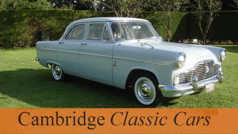 Sold Classic Ford Zephyr Saloon In Cambridge