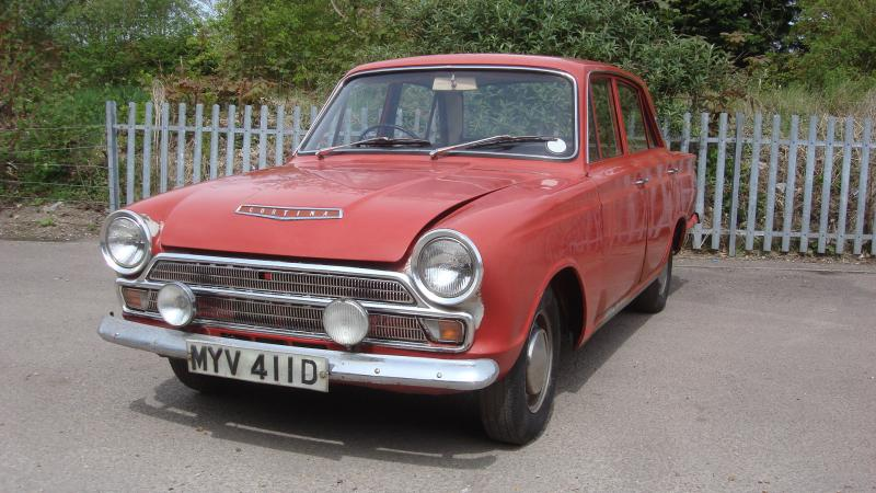 Sold Classic Ford Cortina Saloon In Cambridge