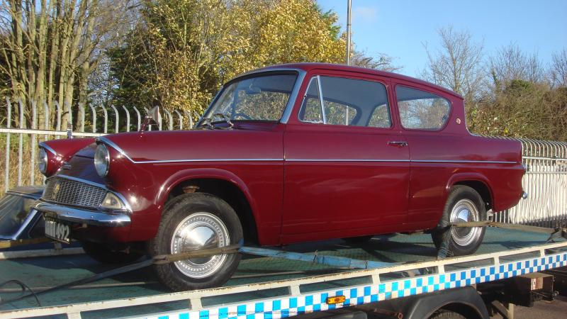 restored ford anglia deluxe in cambridge. Cars Review. Best American Auto & Cars Review