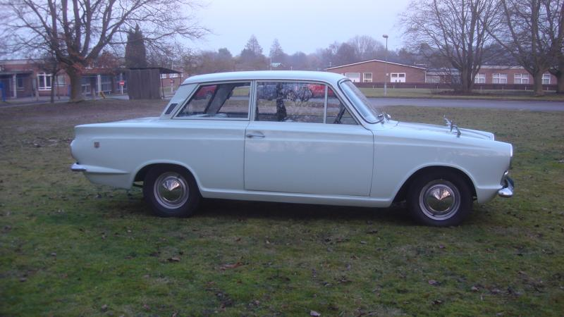 Classic Ford Cortina Mk1 Gt Saloon In Cambridge